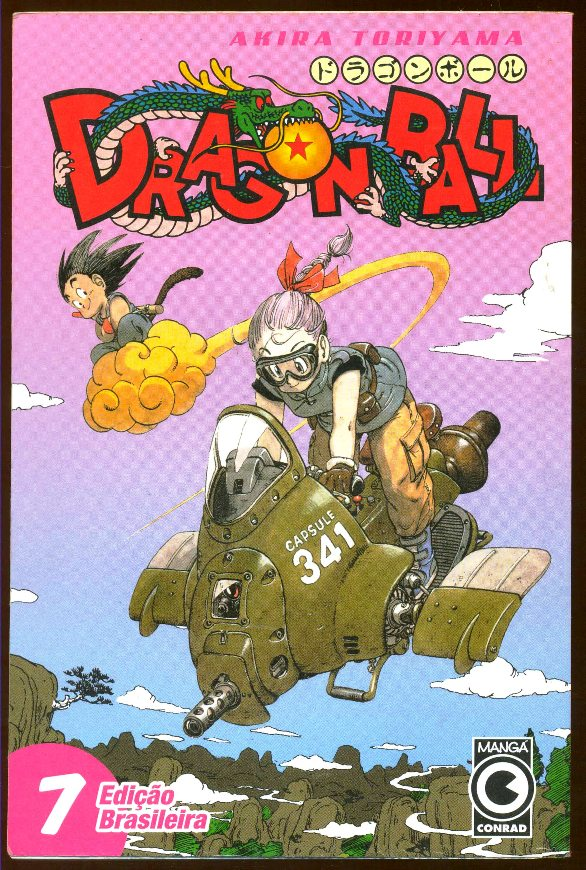DRAGON BALL nº07 - EDITORA CONRAD