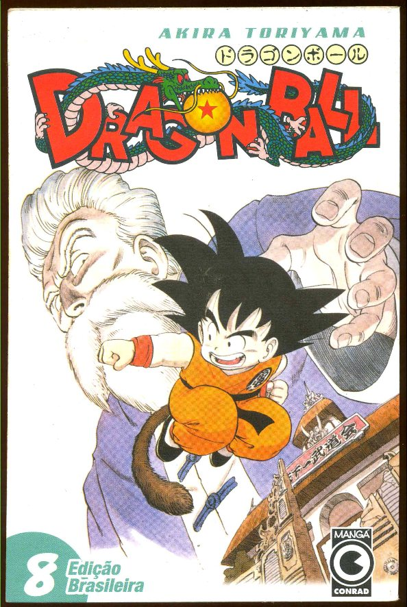DRAGON BALL nº08 - EDITORA CONRAD