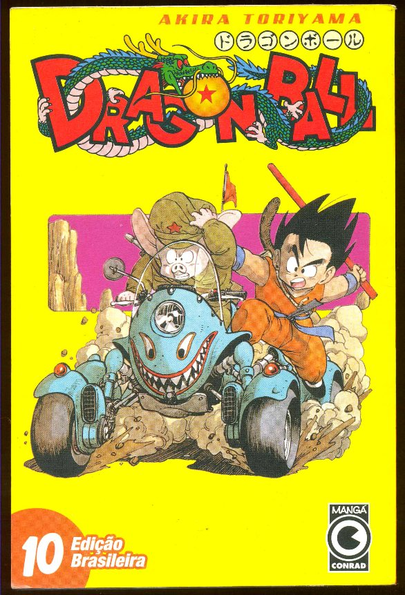 DRAGON BALL nº10 - EDITORA CONRAD