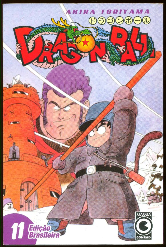 DRAGON BALL nº11 - EDITORA CONRAD
