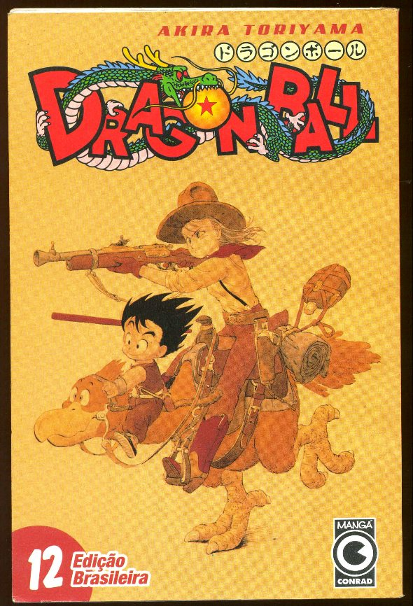 DRAGON BALL nº12 - EDITORA CONRAD