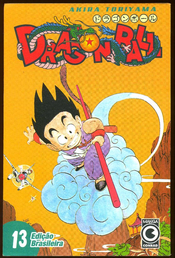DRAGON BALL nº13 - EDITORA CONRAD