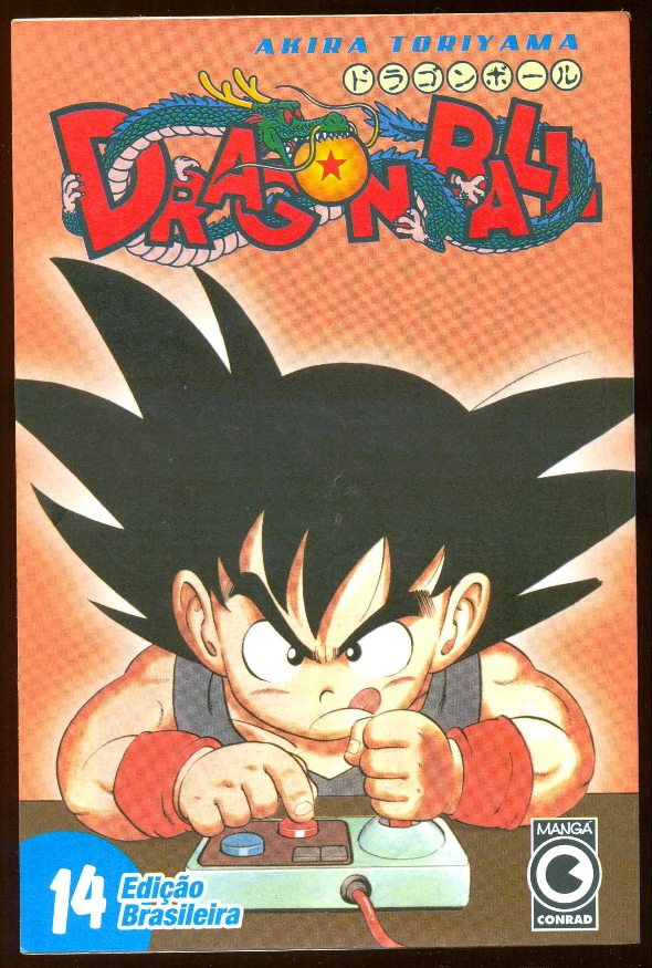 DRAGON BALL nº14 - EDITORA CONRAD