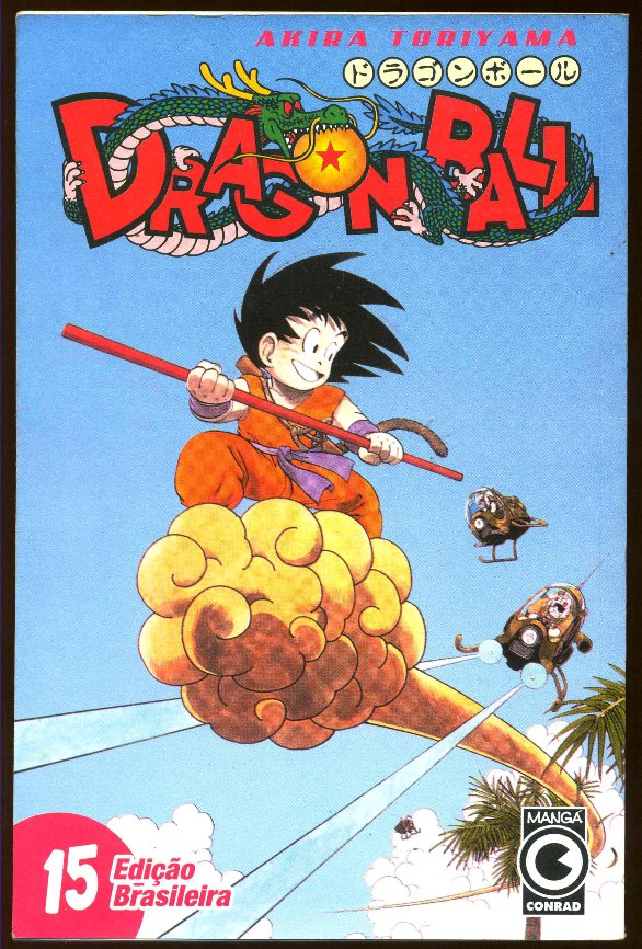 DRAGON BALL nº15 - EDITORA CONRAD