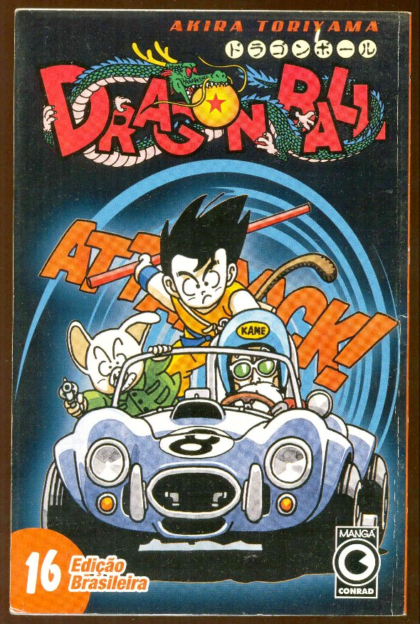 DRAGON BALL nº16 - EDITORA CONRAD