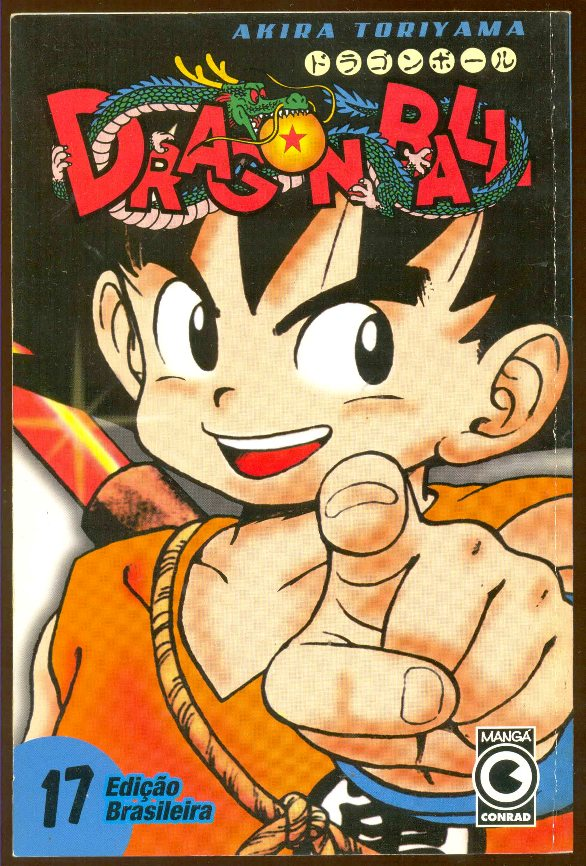 DRAGON BALL nº17 - EDITORA CONRAD