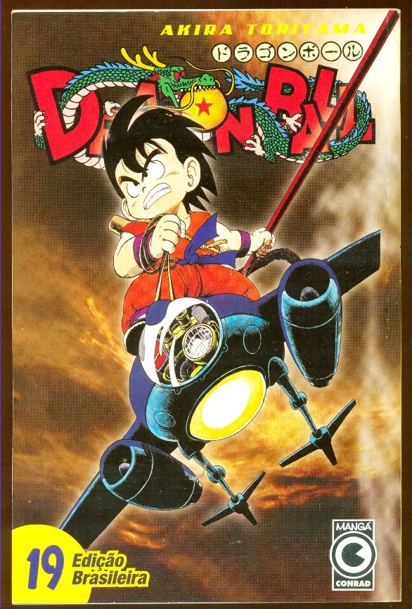 DRAGON BALL nº19 - EDITORA CONRAD