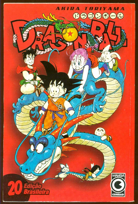 DRAGON BALL nº20 - EDITORA CONRAD