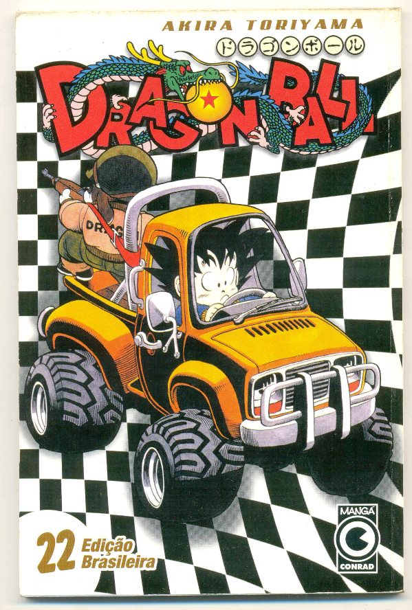 DRAGON BALL nº22 - EDITORA CONRAD