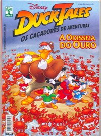 DUCK TALES - A ODISSEIA DO OURO - ED. ABRIL
