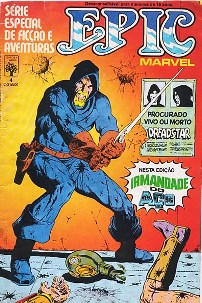EPIC MARVEL n°04 - EDITORA ABRIL