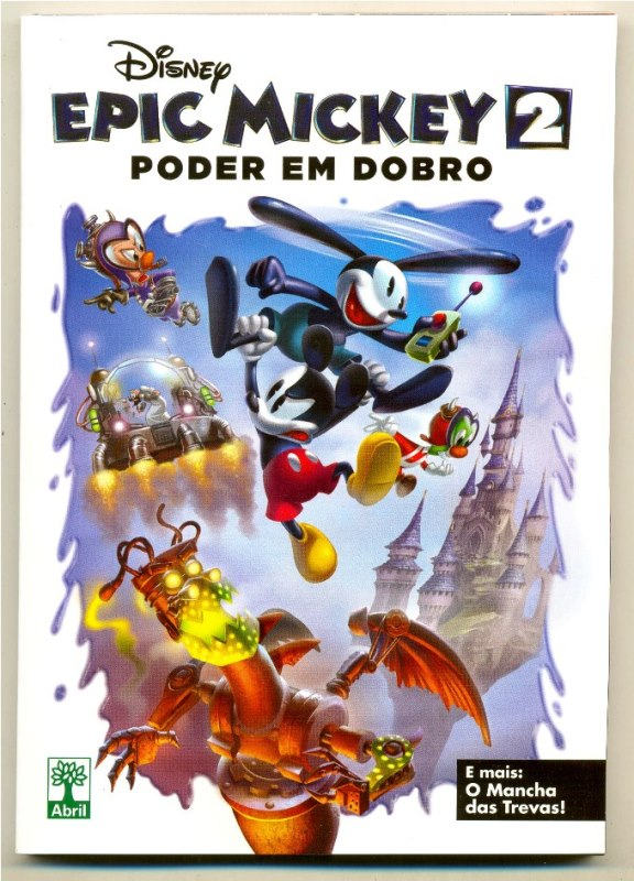 DISNEY EPIC MICKEY nº02 - ED. ABRIL