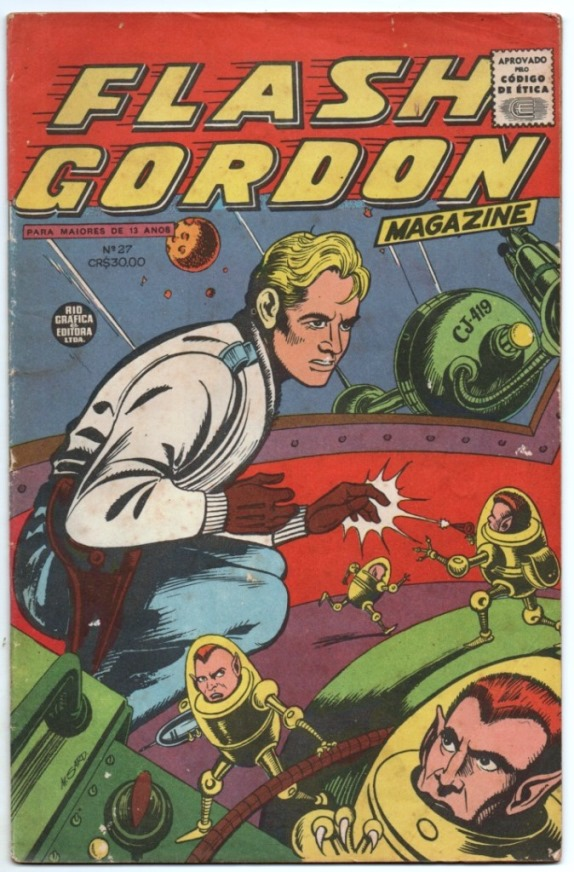 FLASH GORDON nº027 - EDITORA RGE