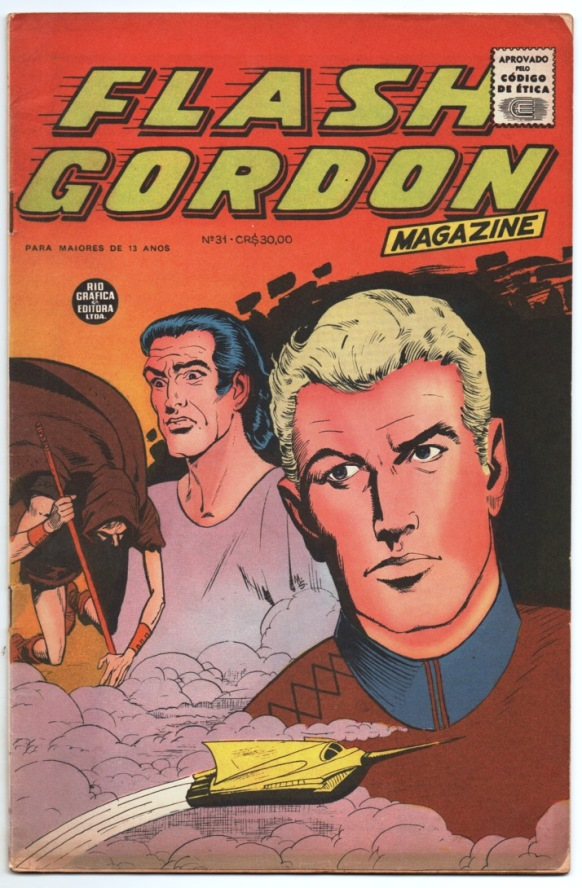 FLASH GORDON nº031 - EDITORA RGE