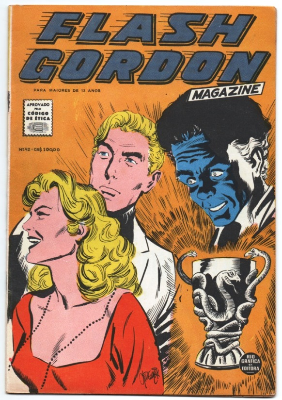 FLASH GORDON nº042 - EDITORA RGE