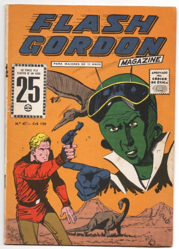 FLASH GORDON nº047 - EDITORA RGE