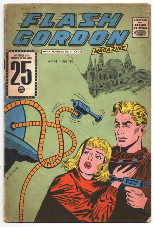 FLASH GORDON nº048 - EDITORA RGE