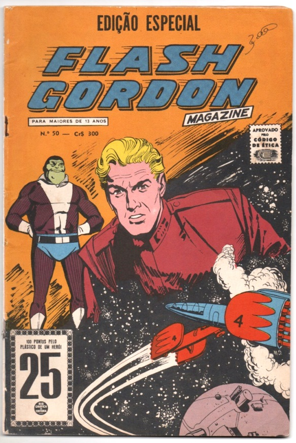 FLASH GORDON nº050 - EDITORA RGE