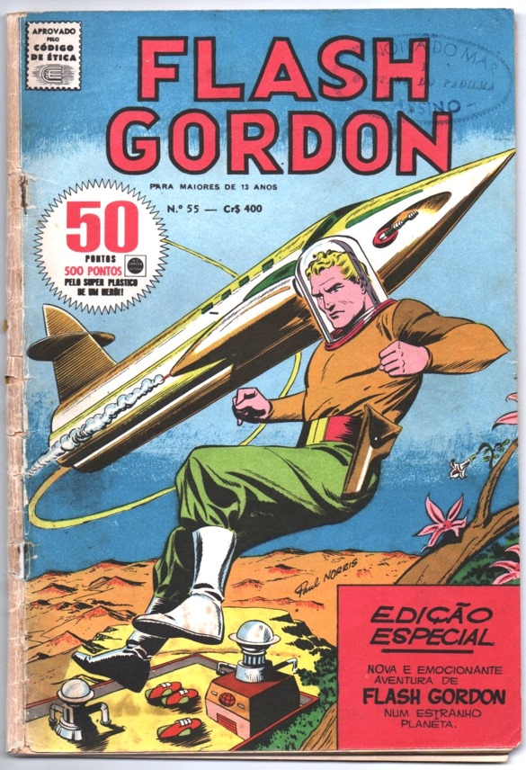 FLASH GORDON nº055 - EDITORA RGE