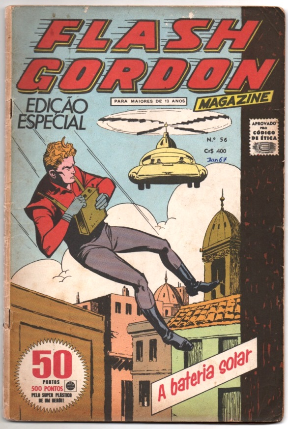 FLASH GORDON nº056 - EDITORA RGE