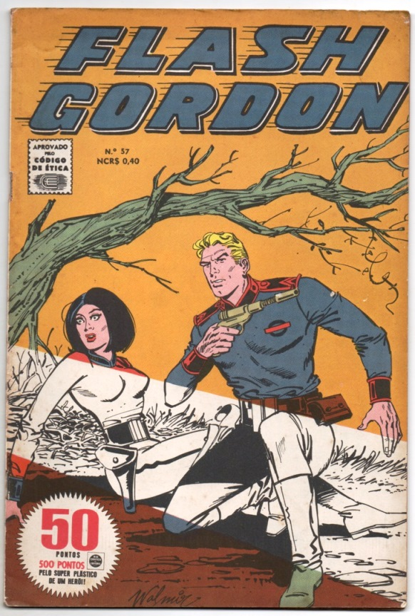 FLASH GORDON nº057 - EDITORA RGE