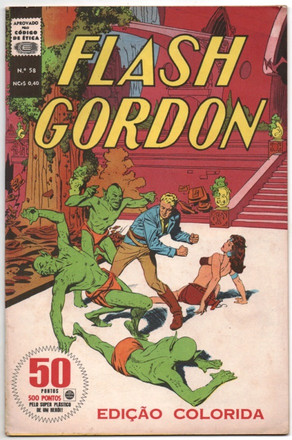 FLASH GORDON nº058 - EDITORA RGE
