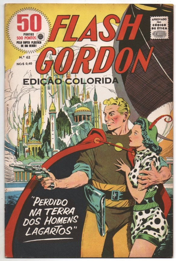FLASH GORDON nº062 - EDITORA RGE