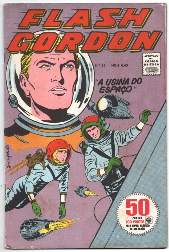 FLASH GORDON nº065 - EDITORA RGE