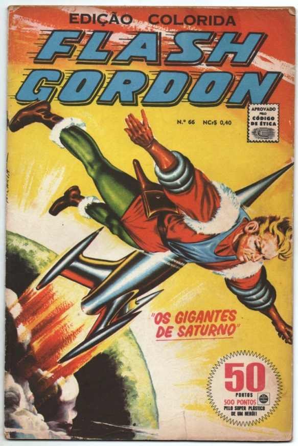 FLASH GORDON nº066 - EDITORA RGE