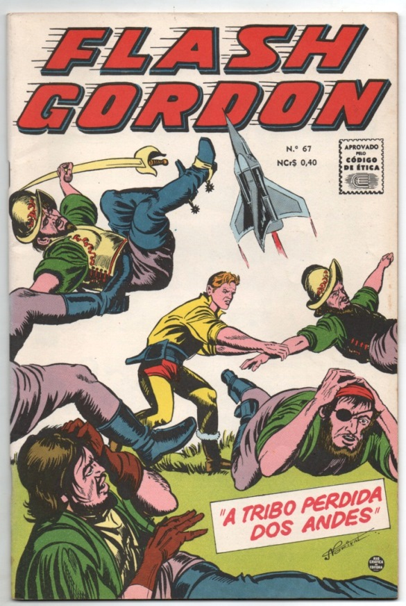 FLASH GORDON nº067 - EDITORA RGE