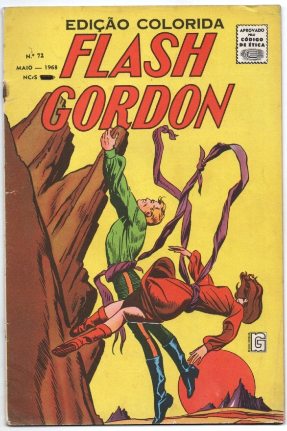 FLASH GORDON nº072 - EDITORA RGE