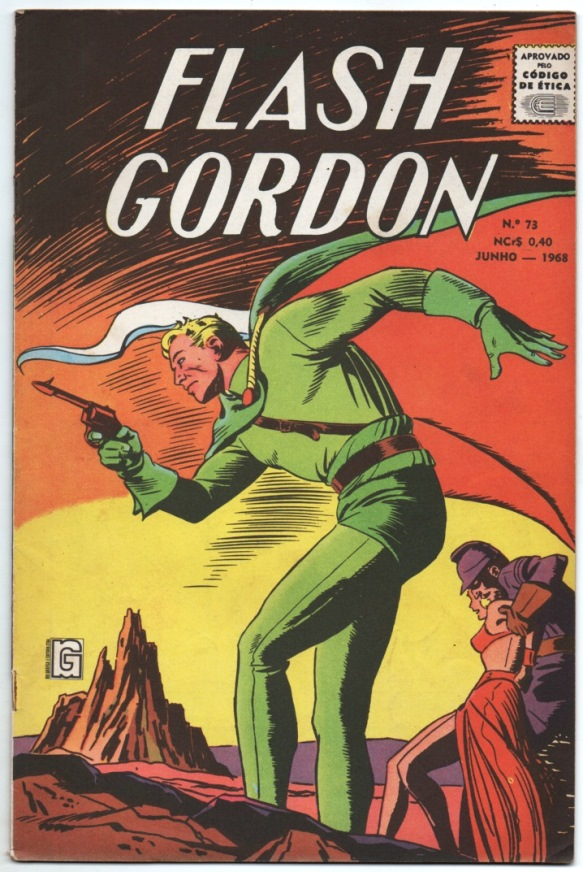 FLASH GORDON nº073 - EDITORA RGE