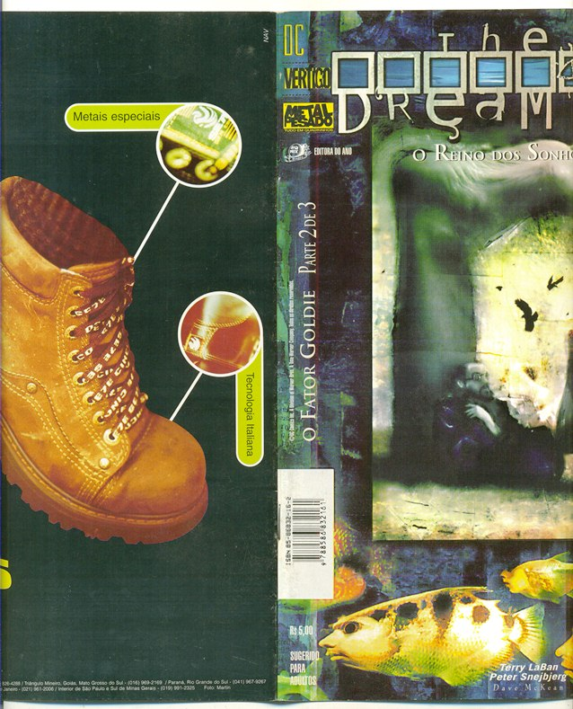 THE DREAMING - O FATOR GOLDIE PARTE 2 - EDITORA METAL PESADO