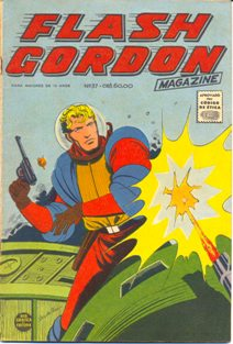 FLASH GORDON nº037 - EDITORA RGE