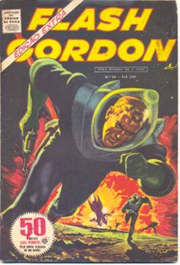 FLASH GORDON nº054 - EDITORA RGE