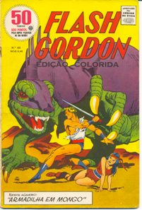 FLASH GORDON nº060 - EDITORA RGE