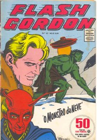 FLASH GORDON nº061 - EDITORA RGE