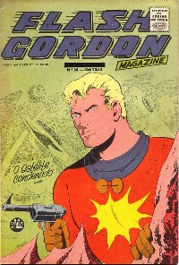 FLASH GORDON nº038 - EDITORA RGE