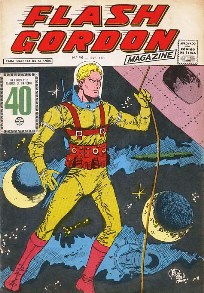 FLASH GORDON nº046 - EDITORA RGE