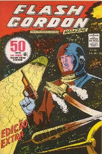 FLASH GORDON nº052 - EDITORA RGE