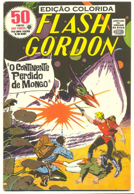FLASH GORDON nº064 - EDITORA RGE