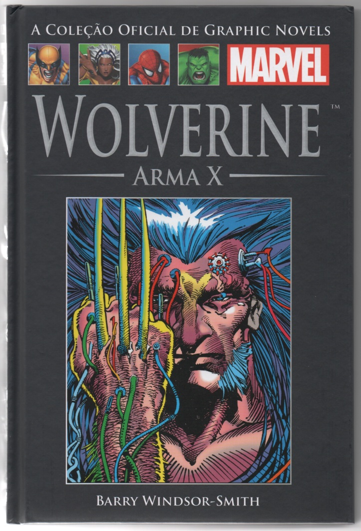 GRAPHIC NOVELS MARVEL nº12 - WOLVERINE - ARMA X - SALVAT