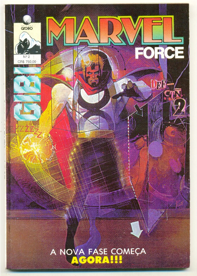 GIBI n°02 - MARVEL FORCE - EDITORA GLOBO