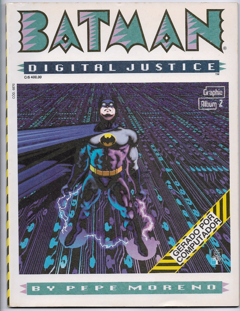 GRAPHIC ALBUM nº02 - BATMAN DIGITAL JUSTICE - ED. ABRIL