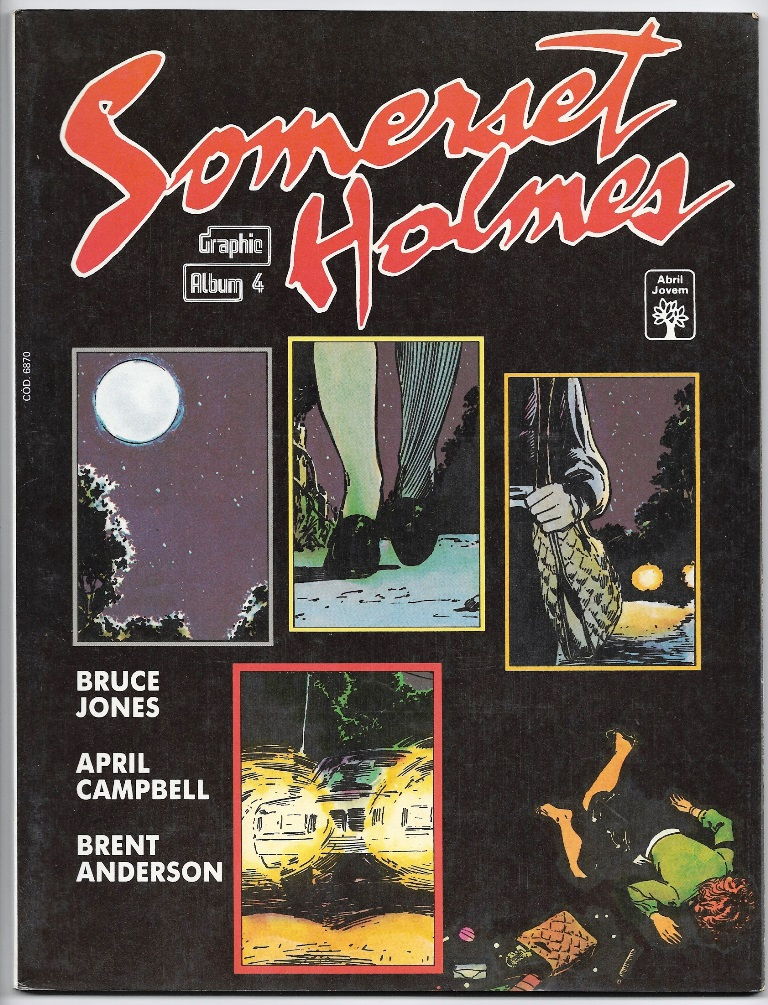 GRAPHIC ALBUM nº04 - SOMERSET HOLMES - ED. ABRIL