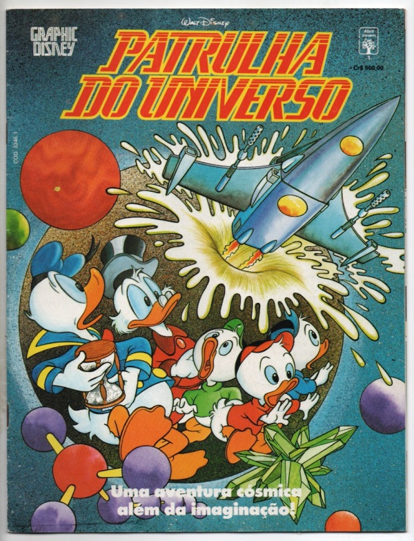 GRAPHIC DISNEY nº01 - A PATRULHA DO UNIVERSO