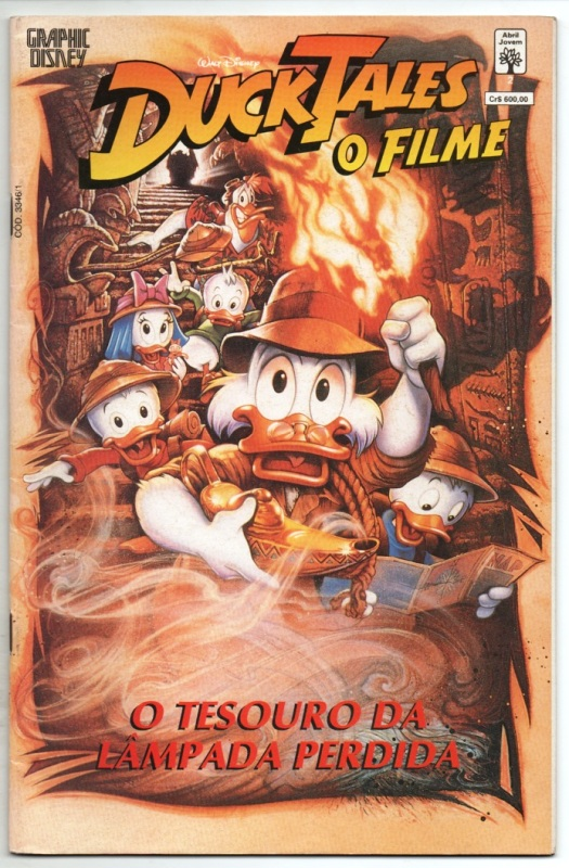 GRAPHIC DISNEY nº02 - DUCK TALES O FILME