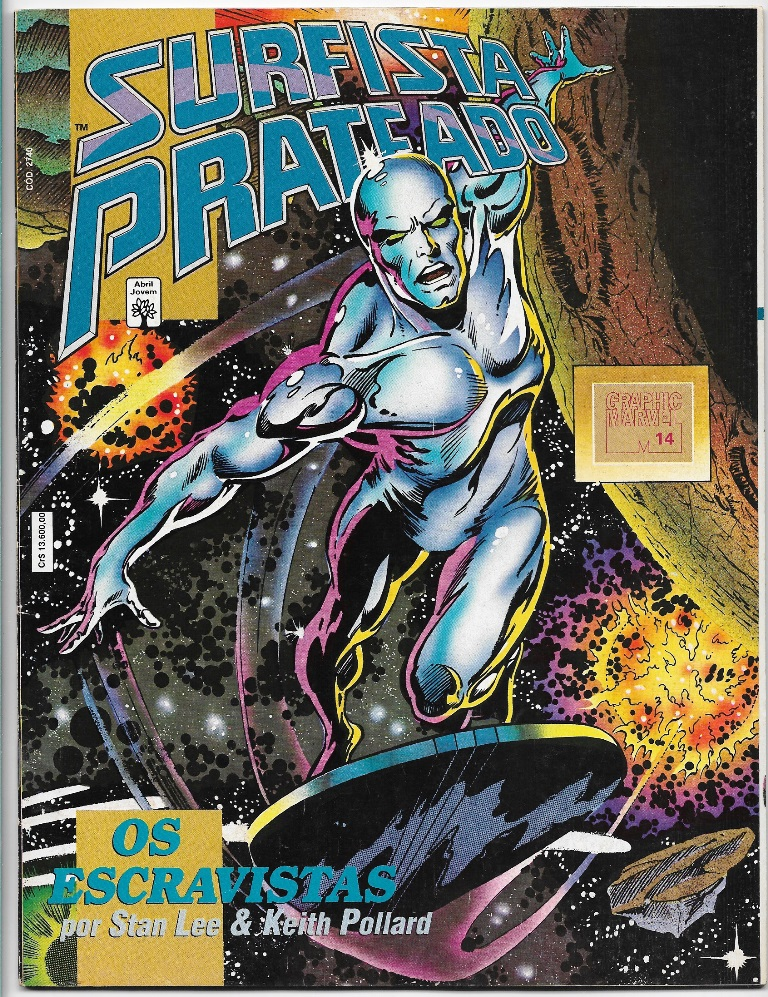 GRAPHIC MARVEL nº14 - SURFISTA PRATEADO - OS ESCRAVISTAS - ABRIL
