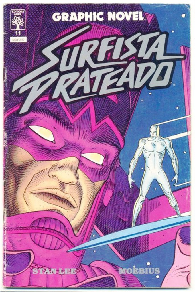 GRAPHIC NOVEL nº11 - SURFISTA PRATEADO - ED. ABRIL