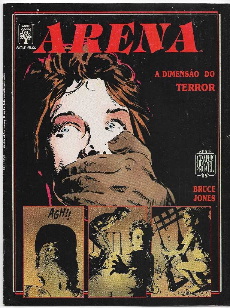 GRAPHIC NOVEL nº18 - ARENA A DIMENSÃO DO TERROR - ED. ABRIL